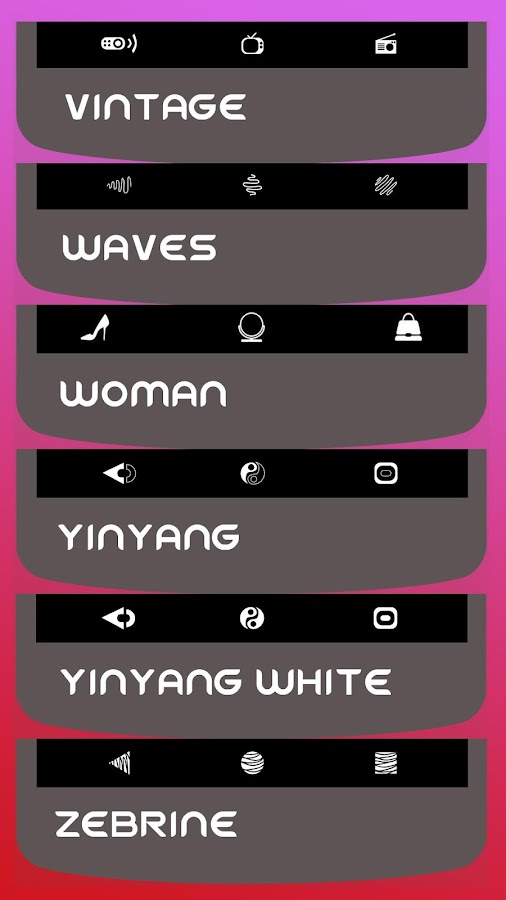 Substratum Vivid Icon Set- screenshot