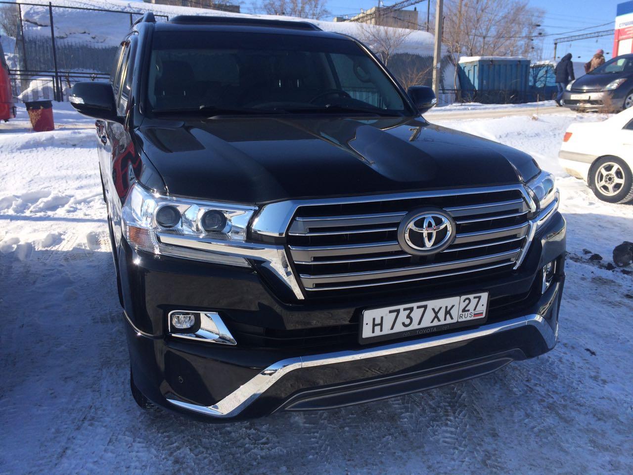 TOYOTA LAND CRUISER  200 в Хабаровске