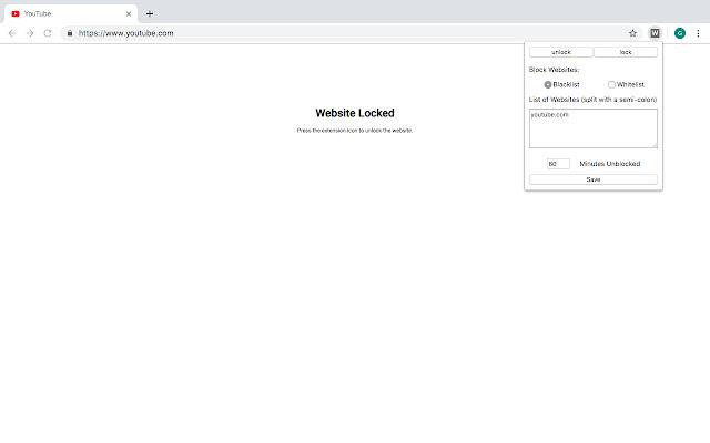 Website Locker