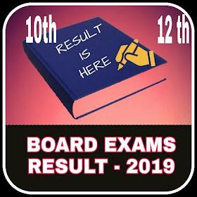 BOARD EXAMS RESULT 2019 -बोर्ड परीक्षा परिणाम २०१९