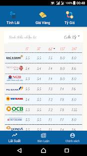 Tính Lãi Suất Ngân Hàng for PC-Windows 7,8,10 and Mac apk screenshot 1