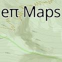 San Diego Hikes —eπ Maps icon