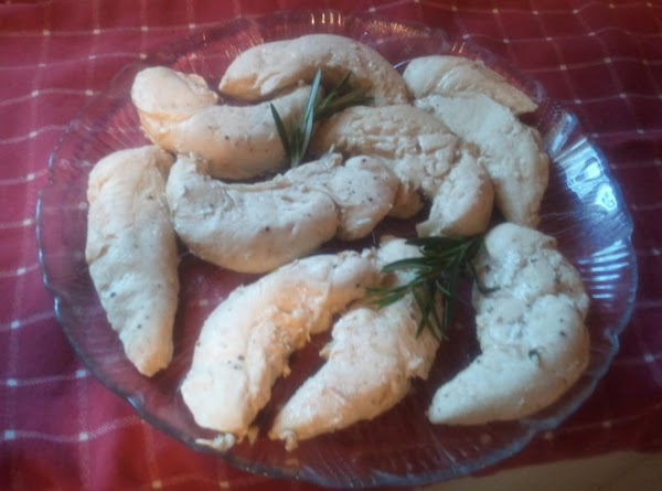 Poached Chicken Tenders Recipe