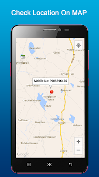 Mobile Number Tracker on Map