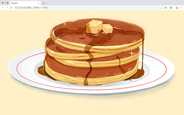 Pancakes Pop HD Foods New Tabs Themes