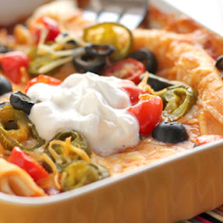 Easy Cheese Enchiladas Recipe
