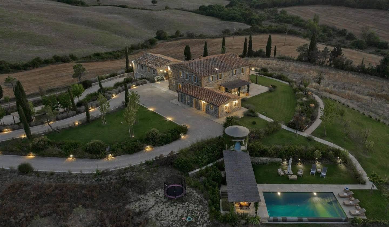 Villa avec piscine Cetona