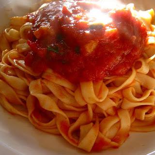 Homemade Italian Sauce.