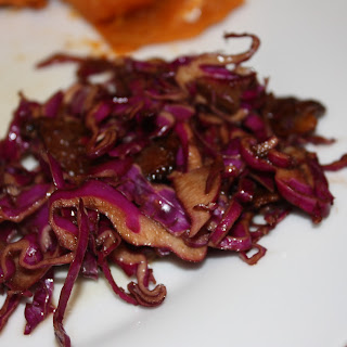 Lidia'S Red Cabbage and Bacon Salad Recipe