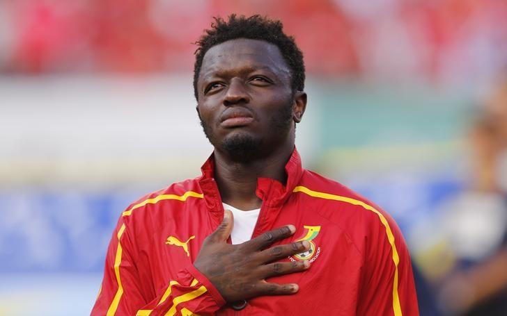 Ghana's Sulley Muntari. Picture: REUTERS