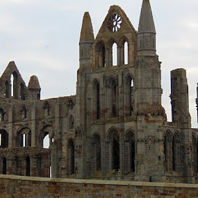Whitby abbey  by Ste D - Buildings & Architecture Decaying & Abandoned ( bricks wall, ruins, abbey,  )