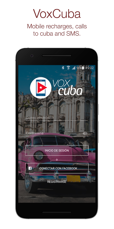 VoxCuba – Recharge for Cuba- screenshot