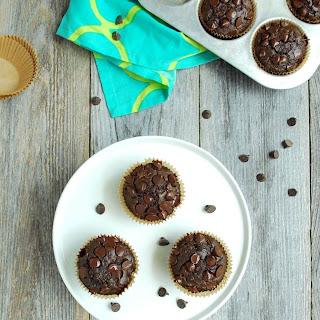 Healthy(ish) Double Chocolate Squash Muffins.