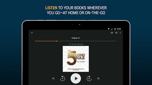 Audiobooks from Audible screenshot