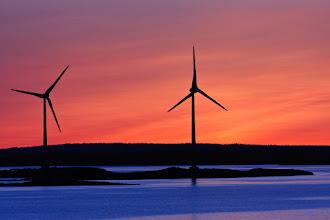 Photo: Sunrise on the coast of the Åland Islands