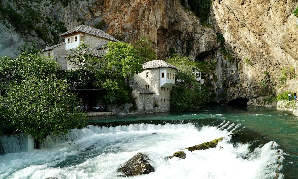 Dom Derwiszów w Blagaj, Bośnia i Hercegowina