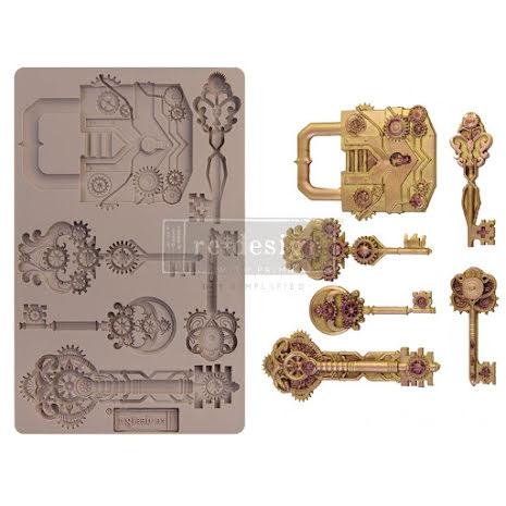 Prima Redesign Mould 5X8 - Mechanical Lock & Keys