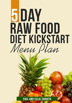 5 day raw food menu plan