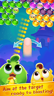 Chicken Bubble Splash - Pop Shooting Game - náhled