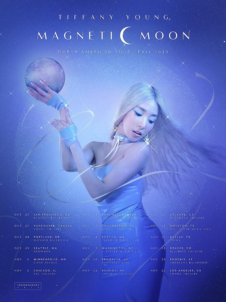 tiffany young magnetic moon tour