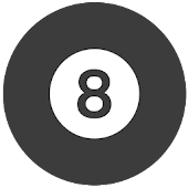 Magic 8-Ball flat