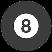 Magic 8-Ball flat