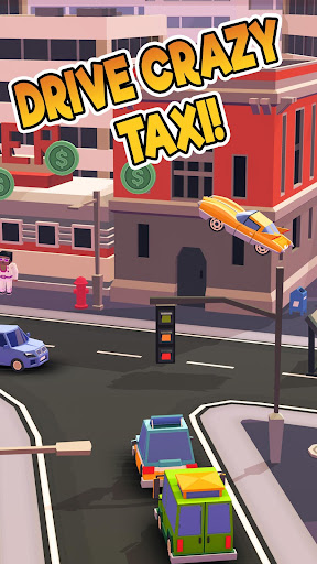 Taxi Run - Crazy Driver  screenshots 17