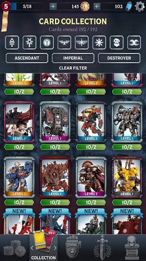 Warhammer Combat Cards - 40K Edition 30.10 screenshots 8