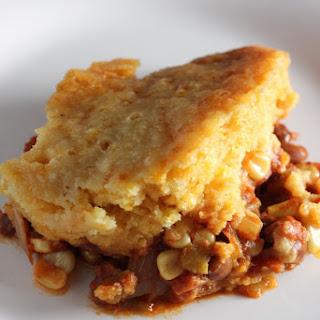 Vegetarian Slow Cooker Tamale Pie