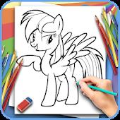 Làm thế nào để vẽ Little Pony Mod