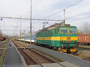 "Photo: 163 217-3 (CD), P ""Cidlina"" Trutnov hl.n. - Praha hl.n. {Celakovice; 2015-04-14}"