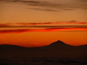 Photo: Sonnenaufgang von Isora (Teide auf Teneriffa)