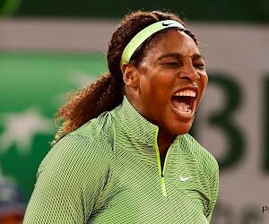 Historisch moment op Roland Garros met zege Williams in eerste avondsessie, twee grandslamwinnaressen out