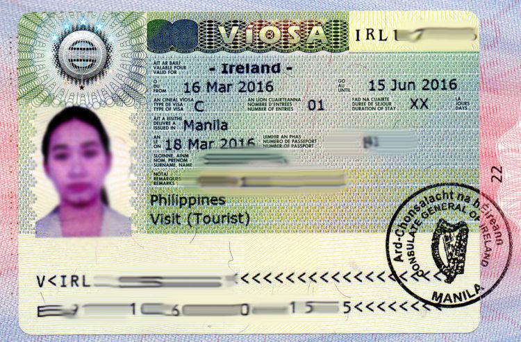фото на визу в ирландию вас