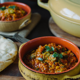 Lentil Okra Curry Recipe