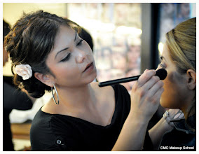 Photo: CMC Makeup School, student work, Makeup training for, bridal, fashion, editorial, runway, photography, film, special effects, fx, prosthetic application, bald capping, airbrush makeup, airbrush tanning, fantasy makeup, movie makeup training, best makeup school, pro makeup artist store, makeup supplies.