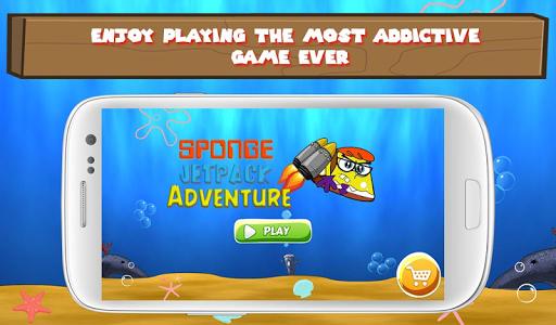 Sponge Jetpack Adventure