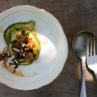 Honey + Thyme Figs W/ Yoghurt + Almonds.