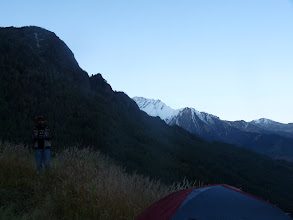 Photo: Early morning view of Ronti Saddle