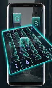 S8 City Keyboard Theme - náhled