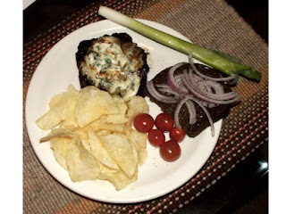 Biff's Bleu Cheese Burger Recipe