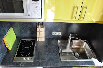 Photo: Plaque induction 2 feux