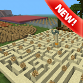 Mega maze map for Minecraft PE