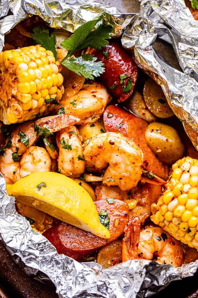 campfire shrimp