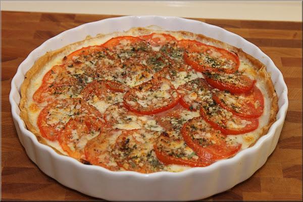 Tomato And Spinach Tart Recipe