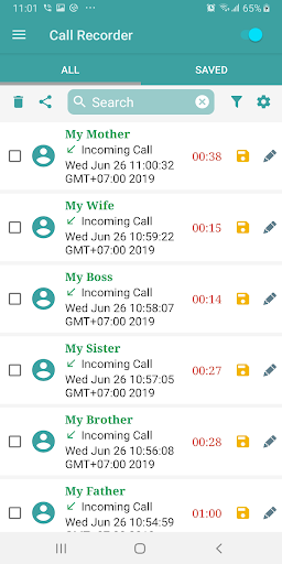 Auto Call Recorder PRO  screenshots 1
