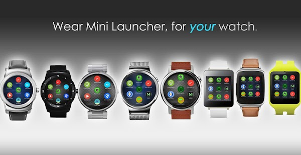 Wear Mini Launcher Screenshot 1