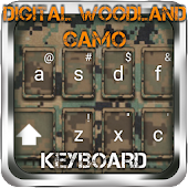 Woodland Camo Keyboard