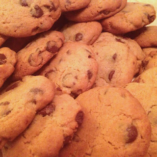 Sometimes only a cookie will help….Almond Paste Cookies with Chocolate Chips