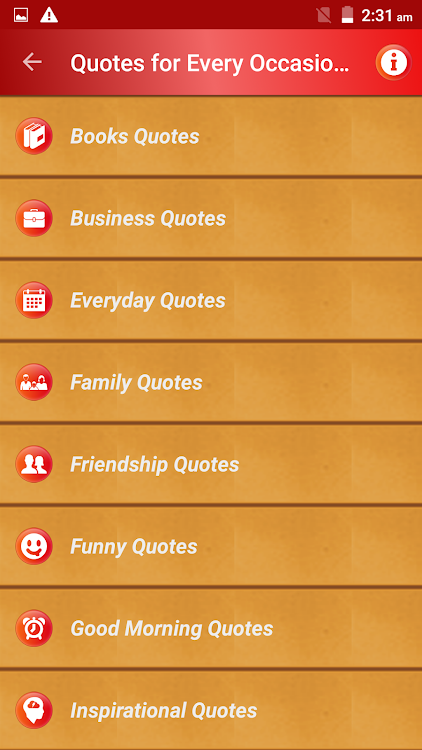 all status messages quotes for every occasion pro android